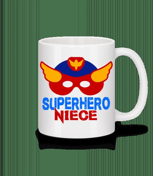 Superhero Niece - Mug - White - Front