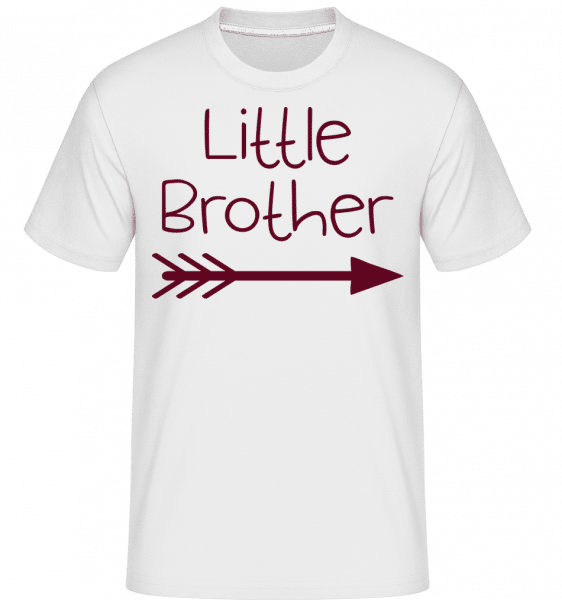 Little Brother - Shirtinator Männer T-Shirt - Weiß - Vorn