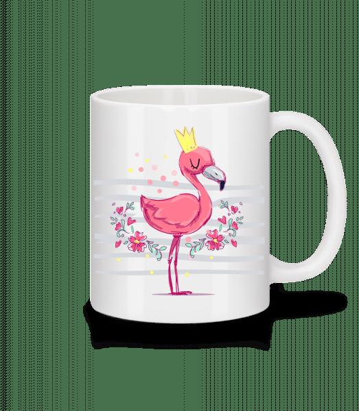 Royal Flamingo - Mug - White - Vorn