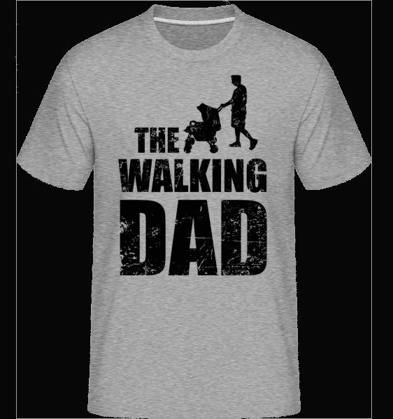 The Walking Dad -  Shirtinator Men's T-Shirt - Heather grey - Vorn