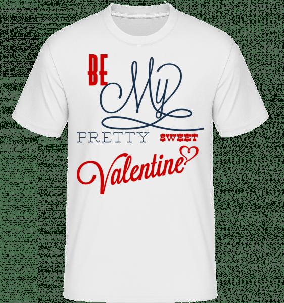 Be My Valentine -  Shirtinator Men's T-Shirt - White - Vorn