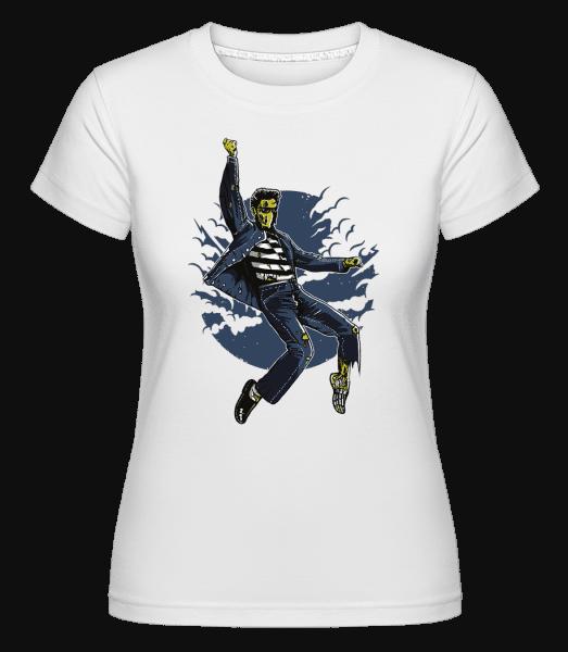 Zombie King -  Shirtinator Women's T-Shirt - White - Vorn
