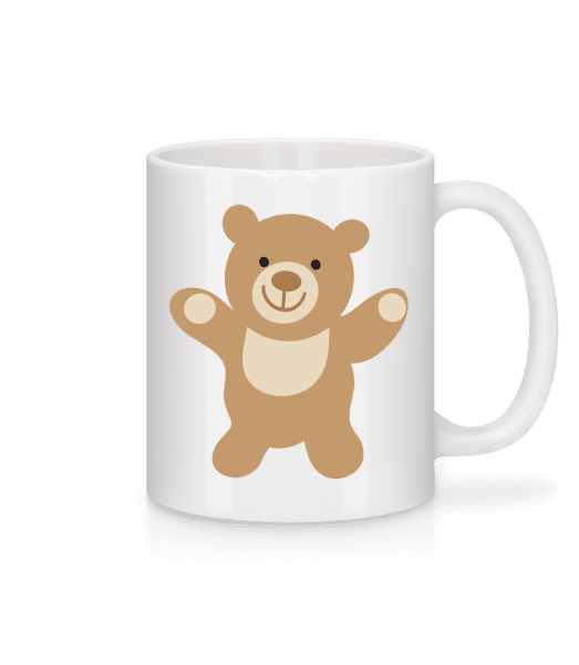 Kids Comic - Bear - Mug - White - Front