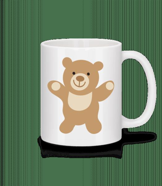 Kids Comic - Bear - Mug - White - Vorn