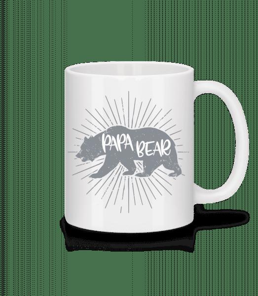 Papa Bear - Mug - White - Vorn