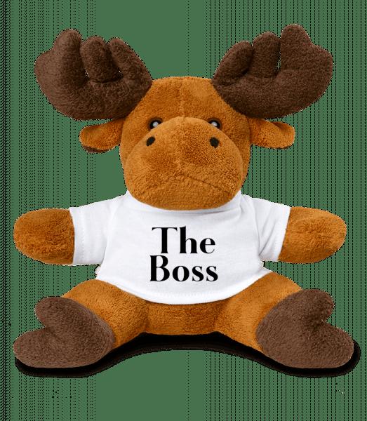 The Boss - Elk - White - Vorn