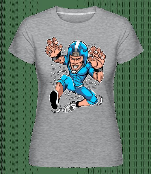 Rugby -  Shirtinator Women's T-Shirt - Heather grey - Vorn