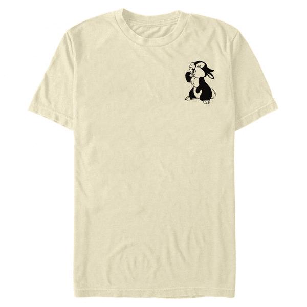Vintage Line Thumper - Disney Bambi - Men's T-Shirt - Cream - Front