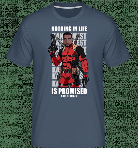 Kanye West Deadpool -  Shirtinator Men's T-Shirt - Denim - Vorn