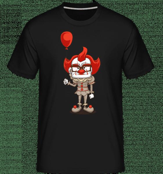 Nice Clown -  Shirtinator tričko pre pánov - Čierna - Predné