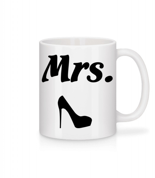Mrs. Wedding - Mug - White - Vorn
