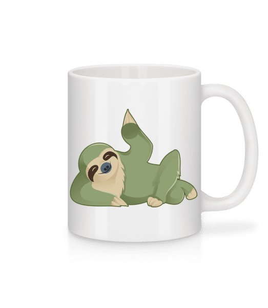 Sloth Beckons - Mug - White - Vorn