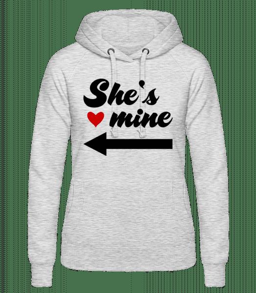 She Is Mine - Women's hoodie - Heather grey - Vorn