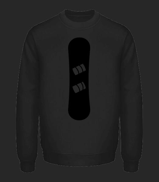 Snowboard - Unisex Sweatshirt - Black - Vorn