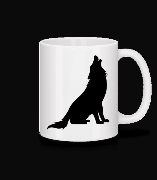 Howlin 'Wolf - Keramický hrnček - Biela - Predné