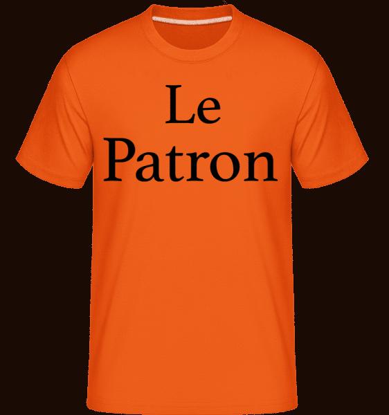 Le Patron -  T-Shirt Shirtinator homme - Orange - Vorn