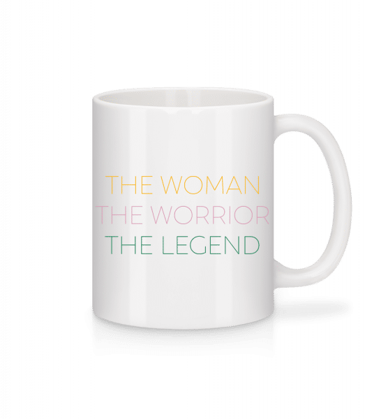 The Woman Worrior Legend - Mug - White - Front
