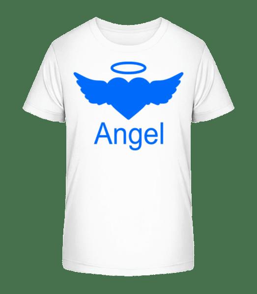 Angel Heart - Kid's Premium Bio T-Shirt - White - Vorn