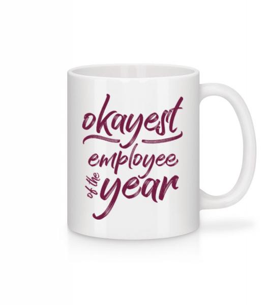 Okayest Employee - Mug - White - Front