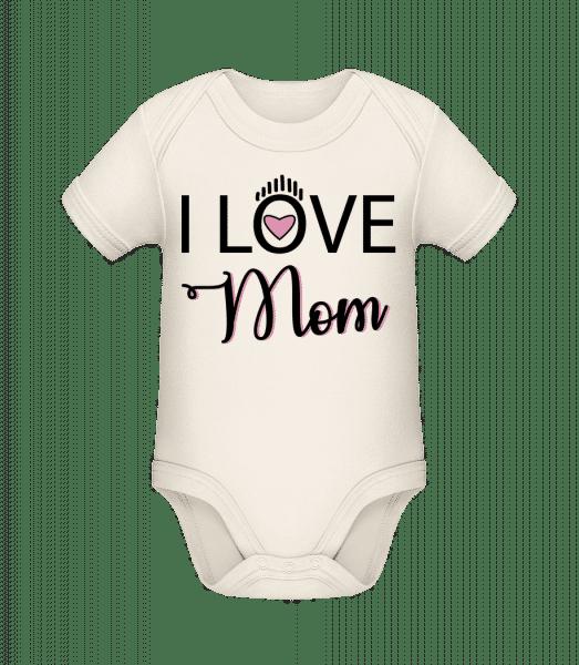 I Love Mom - Organic Baby Body - Cream - Vorn