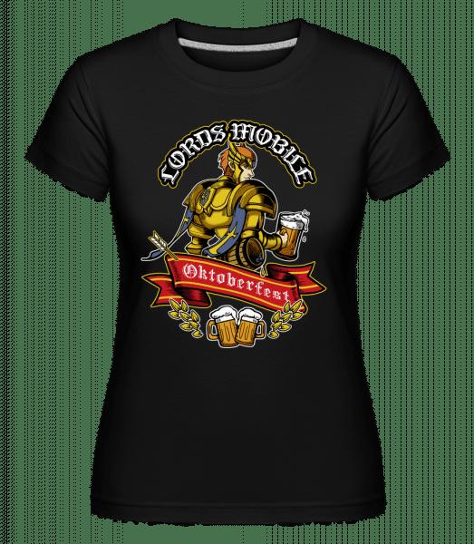 IGG - Shirtinator Frauen T-Shirt - Schwarz - Vorn