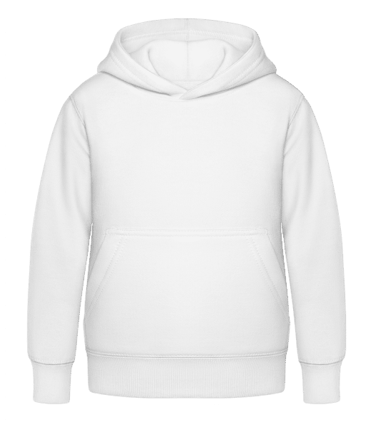 Kid's Hoodie - White - Front