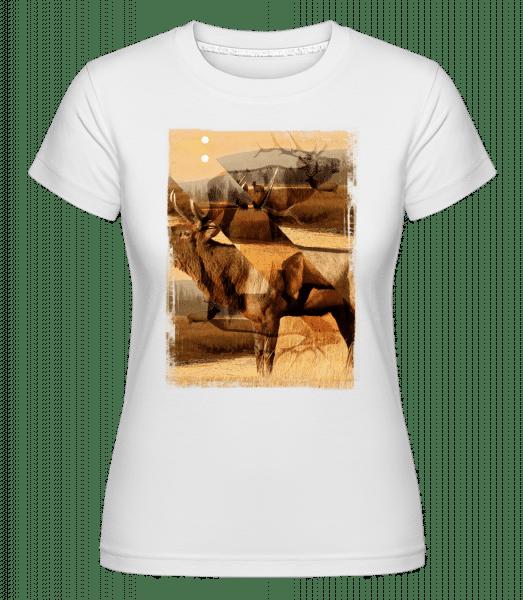 Deer Creative -  Shirtinator Women's T-Shirt - White - Vorn
