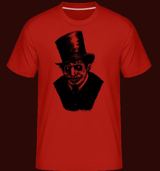 gentleman Zombie -  Shirtinator tričko pre pánov - Červená - Predné