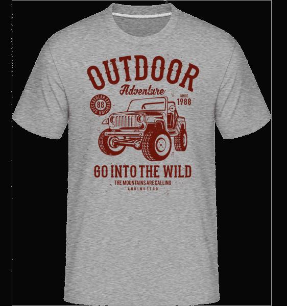 Outdoor Adventure(1) -  Shirtinator Men's T-Shirt - Heather grey - Vorn
