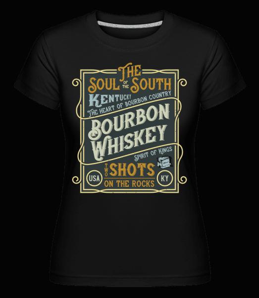 Bourbon Whiskey -  Shirtinator Women's T-Shirt - Black - Vorn