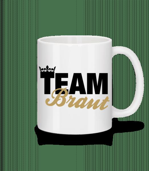Team Braut Krone - Tasse - Weiß - Vorn