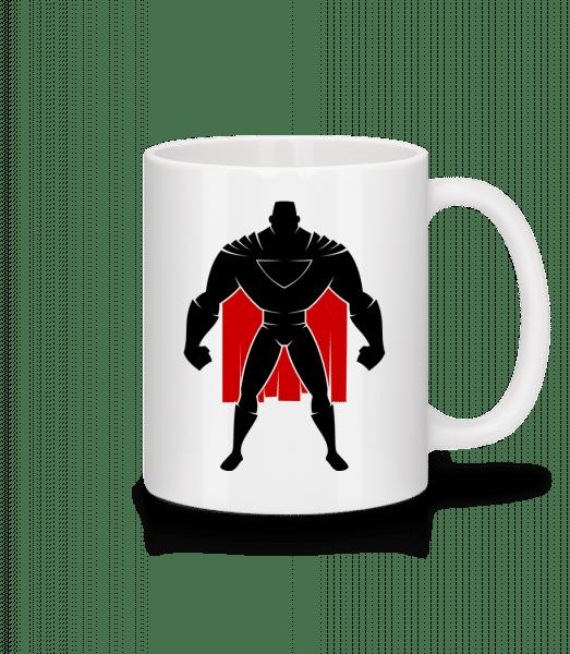Superman Silhouette Cape - Mug - White - Vorn