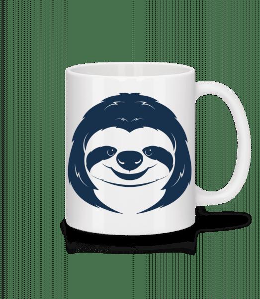 Cute Sloth Face - Mug - White - Vorn