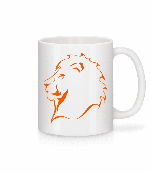Lion - Mug - White - Vorn