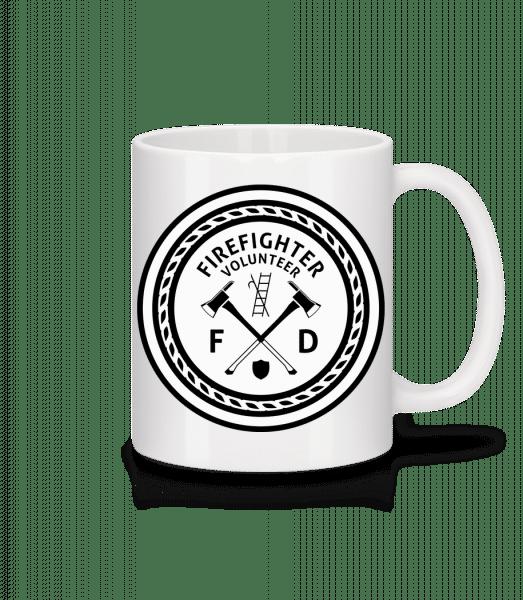 Firefighter - Mug - White - Front