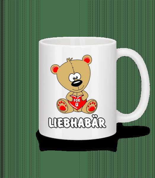 Liebhabär - Tasse - Weiß - Vorn