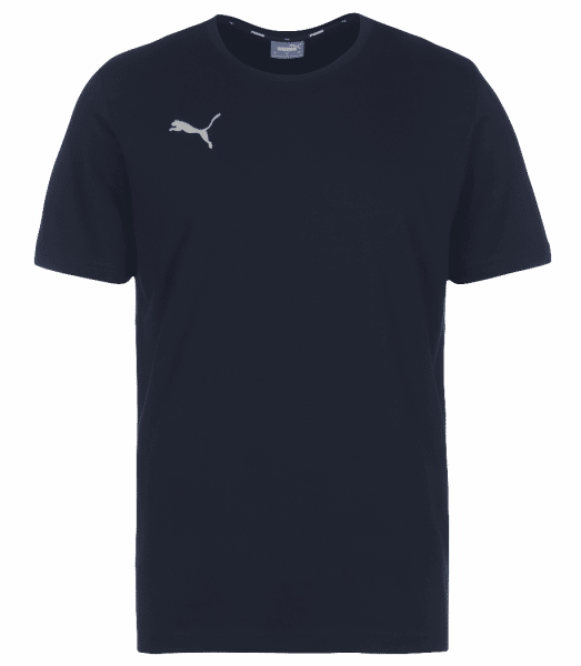 Puma teamGOAL 23 Casuals Tee - Navy - Front