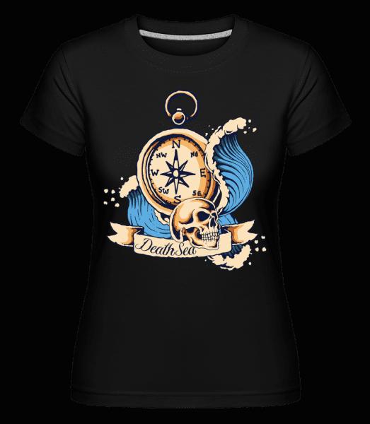 Sea Explorer -  Shirtinator Women's T-Shirt - Black - Front