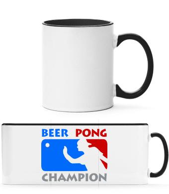 Beer Pong Champion - Two-toned Mug - White - Vorn