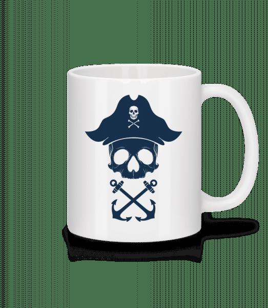 Pirate Skull - Mug - White - Vorn
