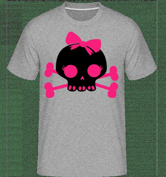 Emo Skull Pink -  Shirtinator Men's T-Shirt - Heather Grey - Vorn