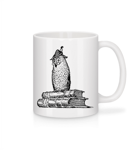 Teacher Owl - Mug - White - Vorn