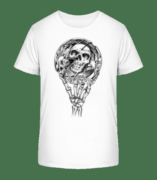 Mirror Dead - Kid's Premium Bio T-Shirt - White - Front