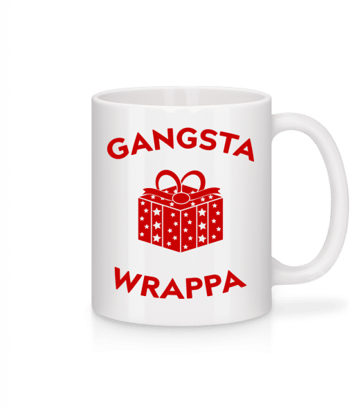 Gangsta Wrappa - Mug - White - Vorn