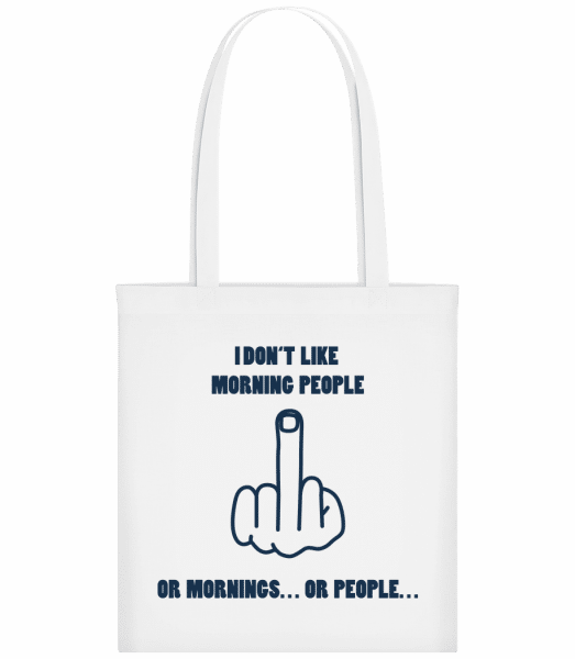 Morning People - Carrier Bag - White - Vorn