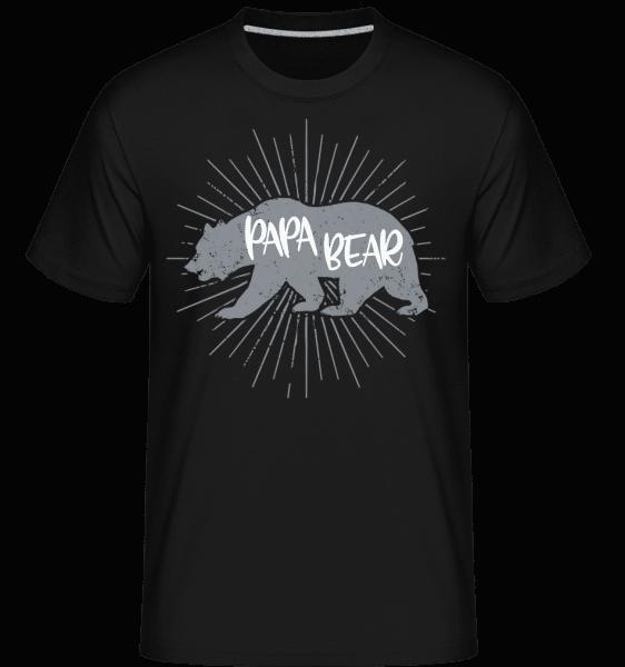 Papa Bear -  Shirtinator Men's T-Shirt - Black - Vorn