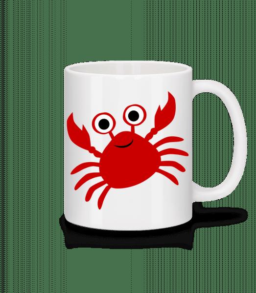 Crab - Mug - White - Vorn