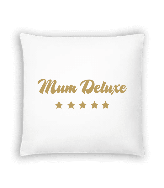 Mum Deluxe - Beige - Cushion - White - Vorn