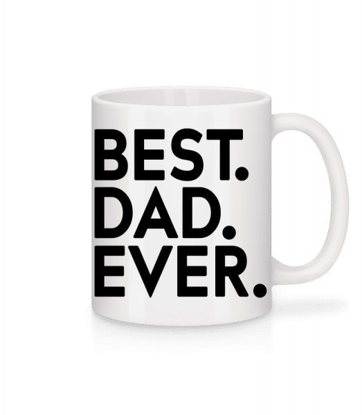 Best Dad Ever - Mug - White - Front