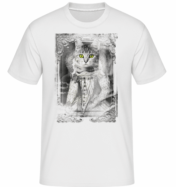 Cats Paintings -  Shirtinator Men's T-Shirt - White - Vorn